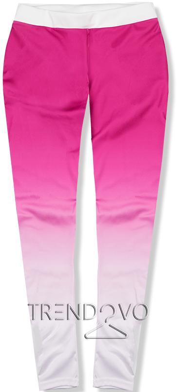 95ffbd8afe04 Ružové fitness športové legíny - Dámske oblečenie