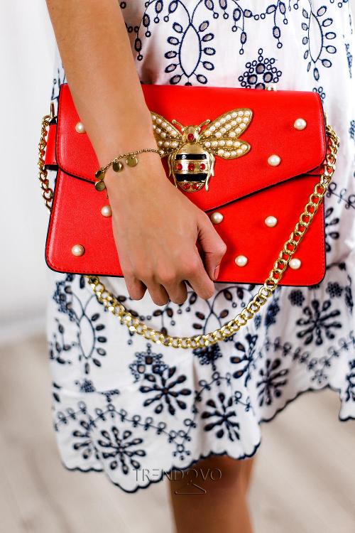 Červená dámska kabelka WASP