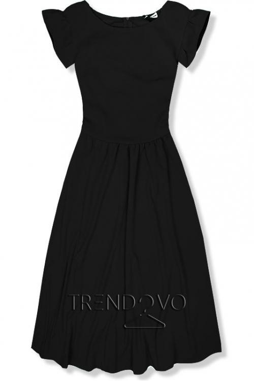 4e4568acbf14 Svetlohnedé elegantné midi šaty - Dámske oblečenie
