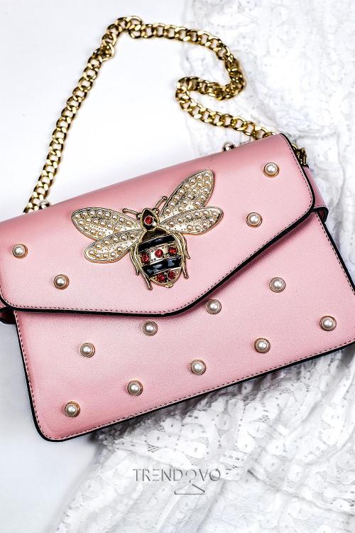 Ružová dámska kabelka WASP